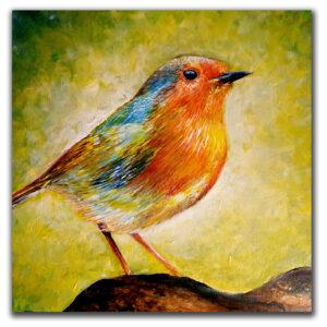 bird freedom original painting