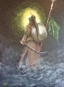 imam husayn painting